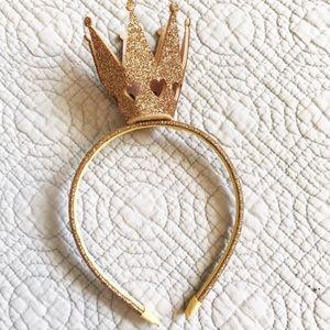 Accessories - Gold Crown Headband